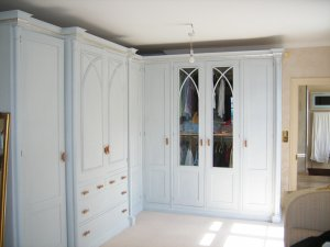 Fitted Painted Wardrobe