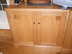 Base of Oak Dresser