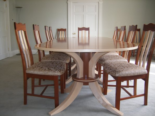 Duka Mahogany Boardroom Table