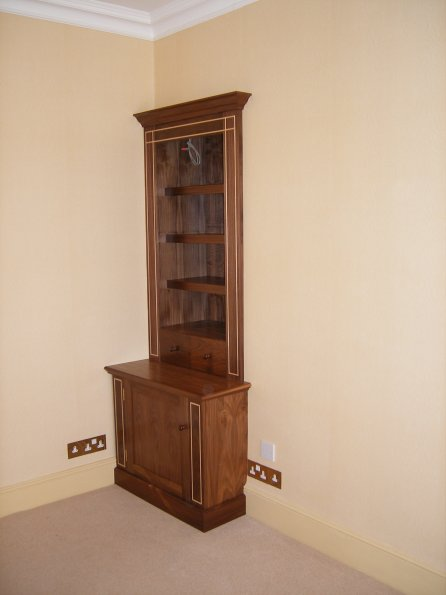 Walnut Alcove Unit